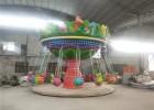 新款户外室内游乐场设备公园旋转恐龙飞椅成人电动刺激性高空玩具