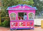实木售货车 实木花车 景区移动售卖车 奶茶车 商场摊位小吃车