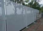 安全围蔽冲孔围挡 中山市政建筑防风围栏 穿孔网板金属护栏