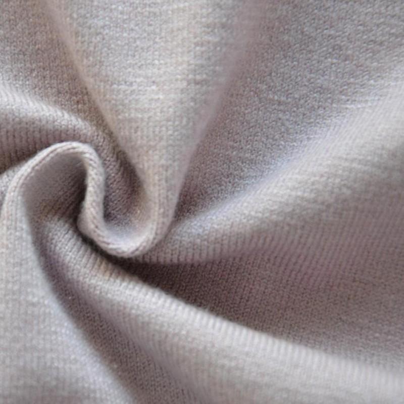 潍坊 26s有机棉双纱单面针织面料 T恤睡衣内衣针织面料