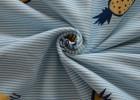 潍坊 32s有机棉染色印花汗布 吸湿排汗针织汗布面料
