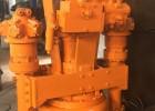 挖机安装液压驱动潜水排沙泵,清淤泵,污泥泵
