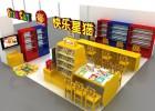毛绒玩具展示柜设计制作济南玩具展柜厂家商场展柜制作公司
