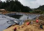 煤化工污泥污水沉淀池反应池用防渗土工膜