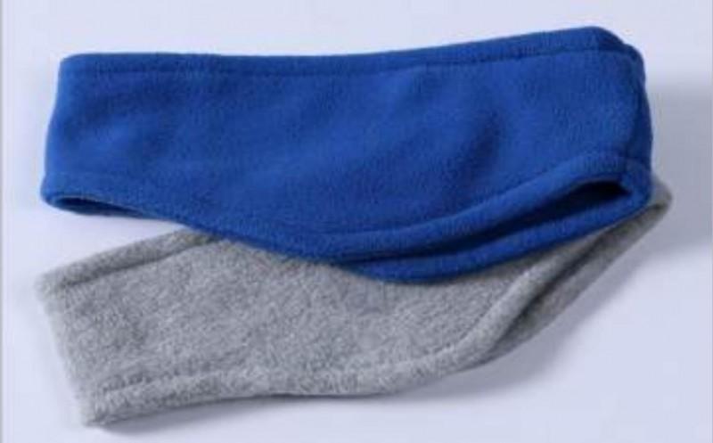 宁波景余针织帽子围巾手套头带工厂运动休闲摇粒绒针织头带