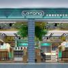 乐潮数码店装修设计,打造新颖惬意的网络之家!