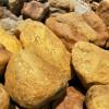 广东英德黄蜡石厂家批发,黄蜡石工程景观石供应,驳岸黄蜡石