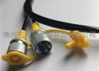DN3压力表测压软管线 63Mpa测压软管接头总成