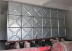 装配式喷塑钢板水箱 安装钢板喷塑水箱