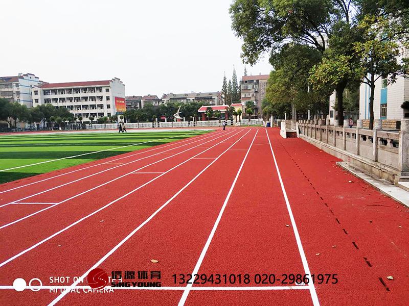 云南大理新国标塑胶跑道施工建设,跑道材料厂家