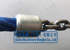 游乐绳网连接件、铝压扣件、铝制套管