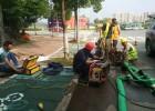 南京双闸高压清洗疏通管道,雨水管道清淤
