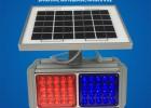 厂家直销太阳能双面2灯爆闪灯 LED爆闪灯 道路警示灯