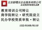 北京的艺术培训中心转让变更价格多少