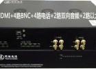 2路双向HDMI2路BNC2路双向音频4路电话2路网络