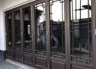 别墅中式门窗定制 中式铝合金门窗厂家