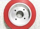 PU聚氨酯包膠滾輪,輥輪,耐磨靜音,江蘇海得實定制聚氨酯專家