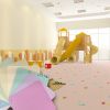 无锡幼儿园专用发泡底室内耐磨防滑地胶厂家直销