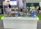 垃圾焚烧装置工艺模型,垃圾发电厂模型,污水处理厂模型
