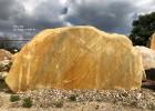 供应大型刻字石 小区刻字石 刻字黄蜡石 园林景观石