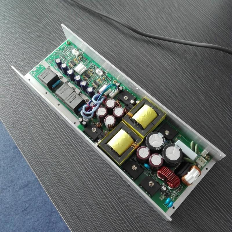 专业级开关电源D类数字功放板模块,三通道3x400W