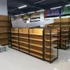 钢木结合货架超市货架母婴用品店货架展示架奶粉货架商店货架
