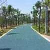仁寿县公园绿道彩色透水路面工程厂家