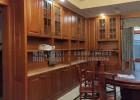 湖南实木家具厂家直供酒柜组合柜 全房进口木材定制家具 餐边柜