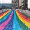 专业彩虹滑道设备出租定制尺寸彩虹滑道制作厂家