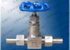 不锈钢高压焊接一字型仪表针阀