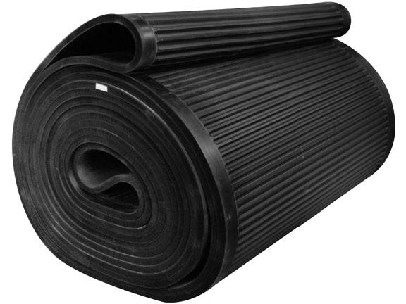 工厂脱硫石膏真空过滤机橡胶带水平带式过滤机输送带双面橡胶