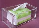 亚克力纸巾盒 纸巾收纳盒 储物盒