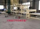 大型砂漿巖棉復合板生產線