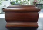 上海骨灰盒厂家批发价格多少钱?寿鹤品牌骨灰盒厂商实木寿盒零售