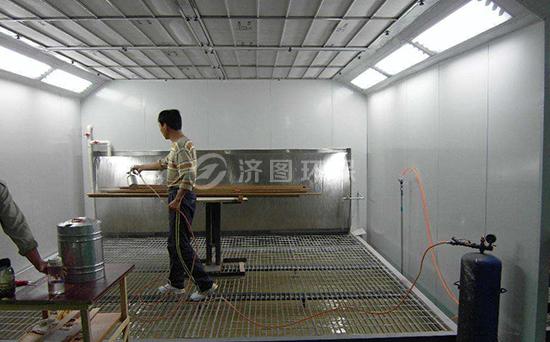 供应环保家具喷漆房
