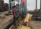 非洲菠萝格柚木板材加工厂家 定制加工