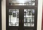 冠墅阳光花格仿古门窗批发 铝方管花格不生锈造型多样