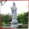 滴水石雕观音 景区寺庙露天石雕滴水观音像