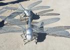不锈钢雕塑-蜻蜓雕塑-园林景观设计施工厂家