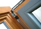 高档铝包木门窗定制橡木铝木门窗厂家6000平米实体工厂