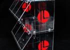 亚克力糖果盒 有机玻璃食物储存盒