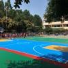 拼装地板篮球场施工建设-塑胶篮球场专业施工建设工程厂家