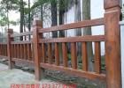 河南仿木护栏厂家活动价,景区水泥仿木护栏的重要性