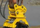 二十吨的挖掘机配的震动夯 小挖掘机安多大的震动夯