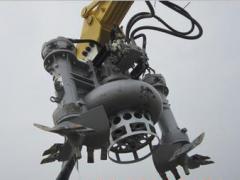 绞吸砂浆泵 优质耐磨的液压排沙泵 挖掘机配套排污设备