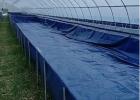 水产养殖帆布水池帆布鱼池水蛭帆布池