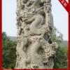 石雕大殿龙柱 明代石雕龙柱
