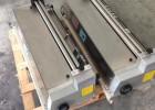 XHJ-380S不锈钢调速裱纸胶水机_彩标上胶机_手动裱卡机