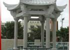 惠安石雕加工花岗岩石亭子户外景观雕塑