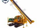 打土专用长螺旋钻机 一次八米深 履带螺旋打桩机